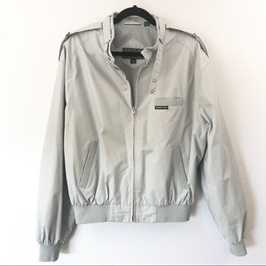 Members Only Gray Banded Collar Jacket